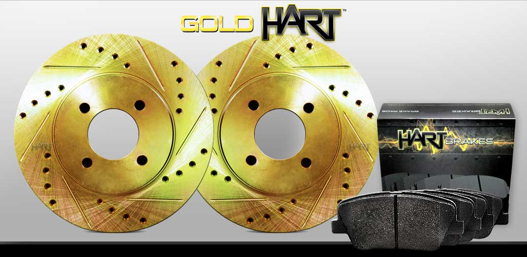 Sentra Hart Brakes Rear Semi-Metallic Brake Pads For 1991-1994 Nissan NX