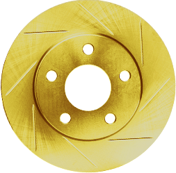 Gold Hart Rotor - Slotted