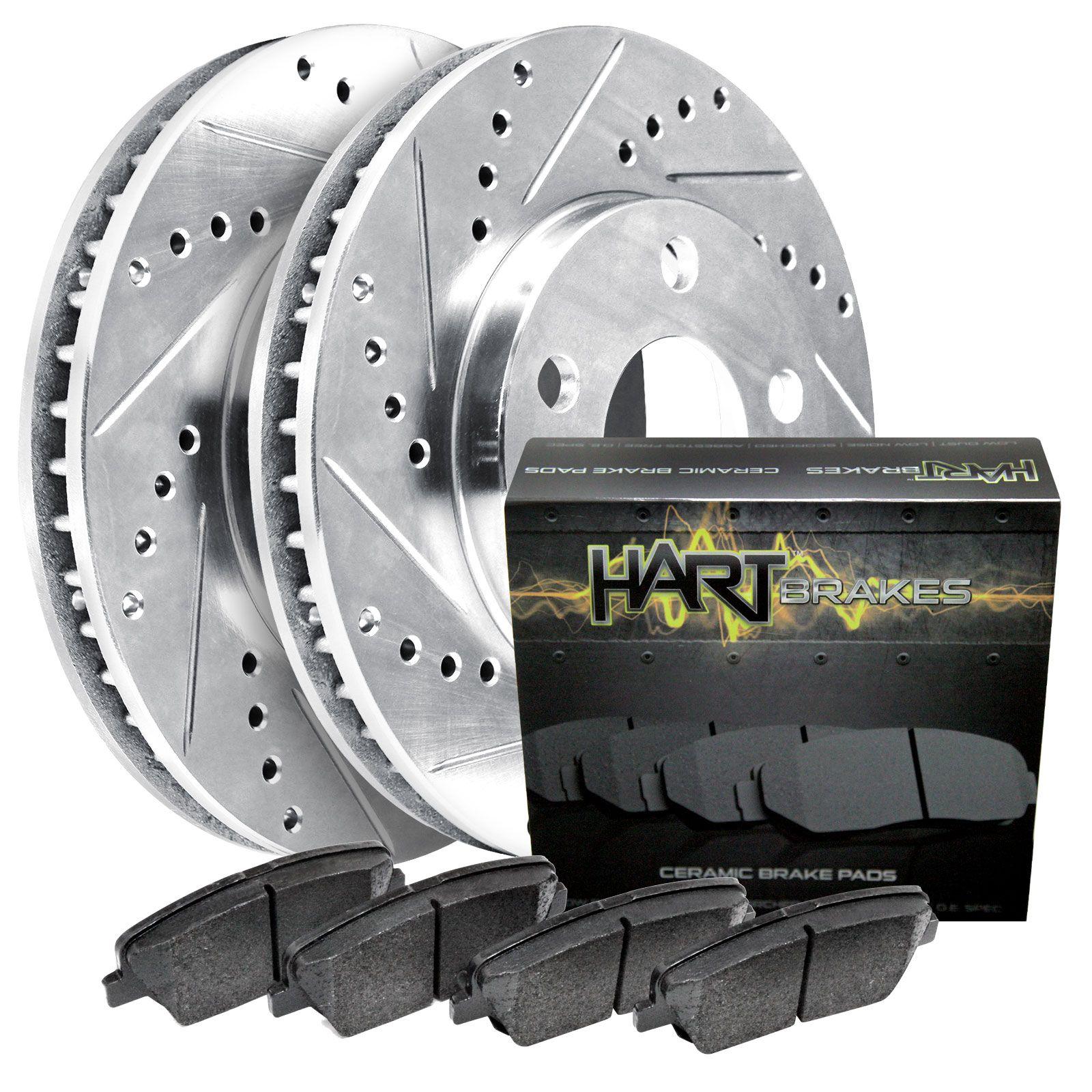 Rear Brake Rotors And Ceramic Pads For Breeze